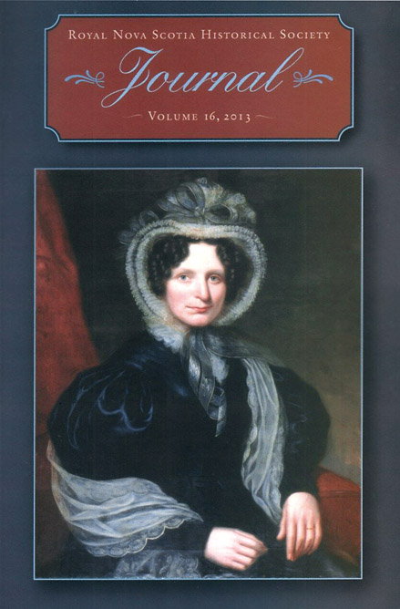 Journal of the Royal Nova Scotia Historical Society ; Vol. 16 ; 2013