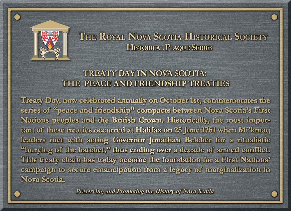treaty day in nova scotia