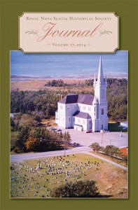 Journal of the Royal Nova Scotia Historical Society ; Vol. 17 ; 2014